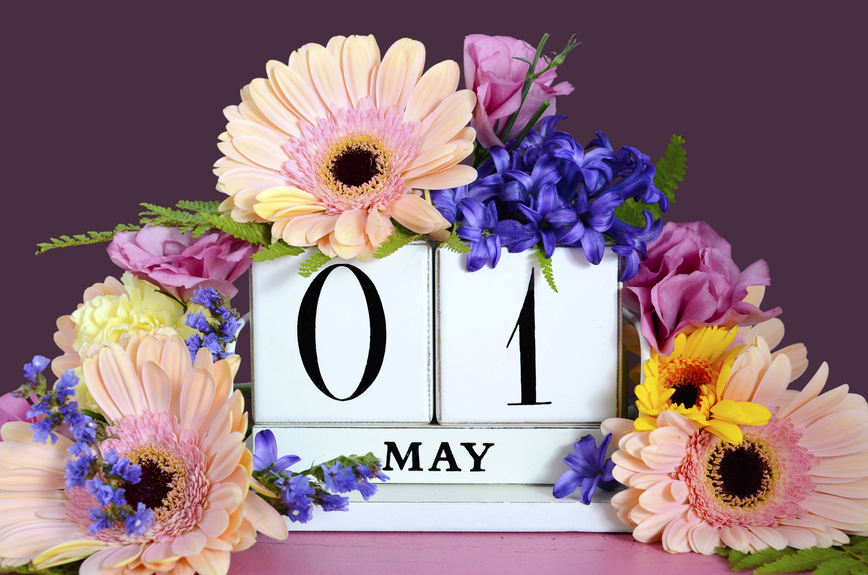 Celebrate May Day to help welcome the warmer months ahead.