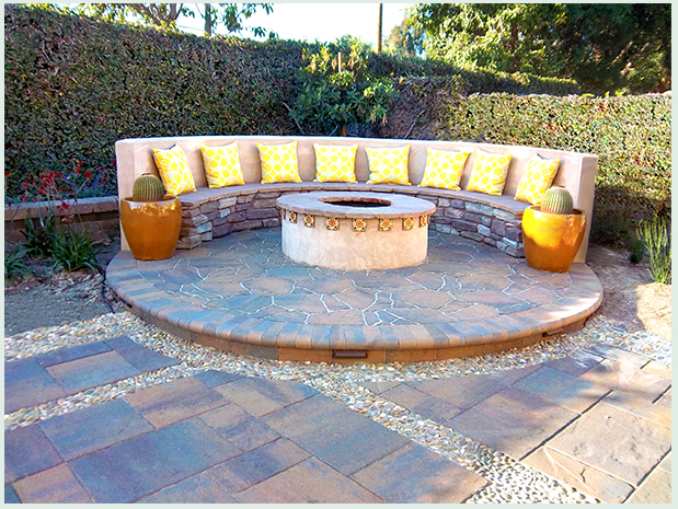Find design inspiration for your backyard design using Spanish influence garden elements