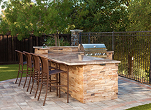 Northern California BBQ Island Installation