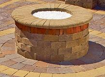 Round Firepit Capri R
