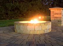 Stone Paver Firepit