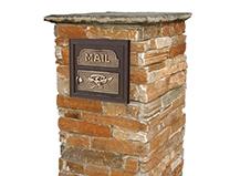 Natural Stone Mailbox2