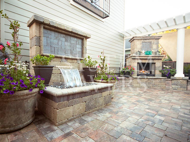 wall water features outdoor backyard garden wall water features. Black Bedroom Furniture Sets. Home Design Ideas