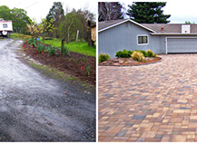 Red Paver Stones Driveway Difference