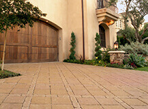 Mixed Pavers For Driveway Tan Stone