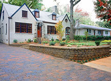Horizontal Pattern Paving Ideas