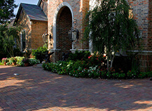 Red Driveway Paving Stones