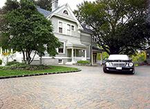 Half Circle Driveway Paving Stone Pattern