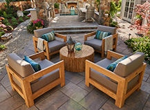 Angled Patio Pavers