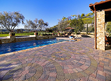 Coto Paver Project Swimming Pool Backyard