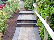 Paver Lined Pathways