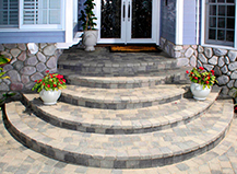Paving Stone Walkways Steps