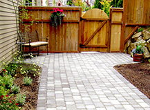 Light Colored Paving Stones Walkways
