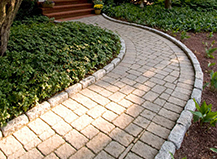 Backyard Paver Pathways