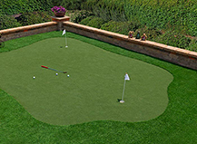Artificial Grass Putting Area