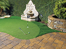 Artificial Turf Residence Golf