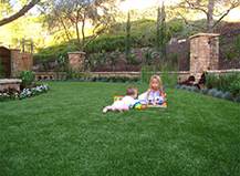 Artificial Turf Residence Child Friendly