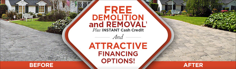 Free Demolition & Removal