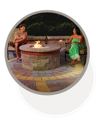 Outdoor Firepit ideas from System Pavers