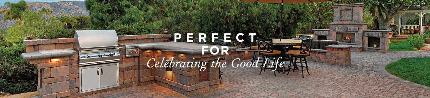Beautiful and durable patio pavers.