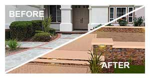 System Pavers has software to get a preview of what your home will look like after pavers installation
