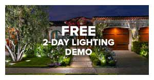 System Pavers Free 2-Day Lighting Demo