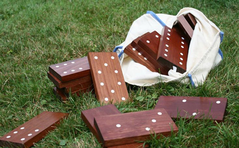 Outdoor dominos