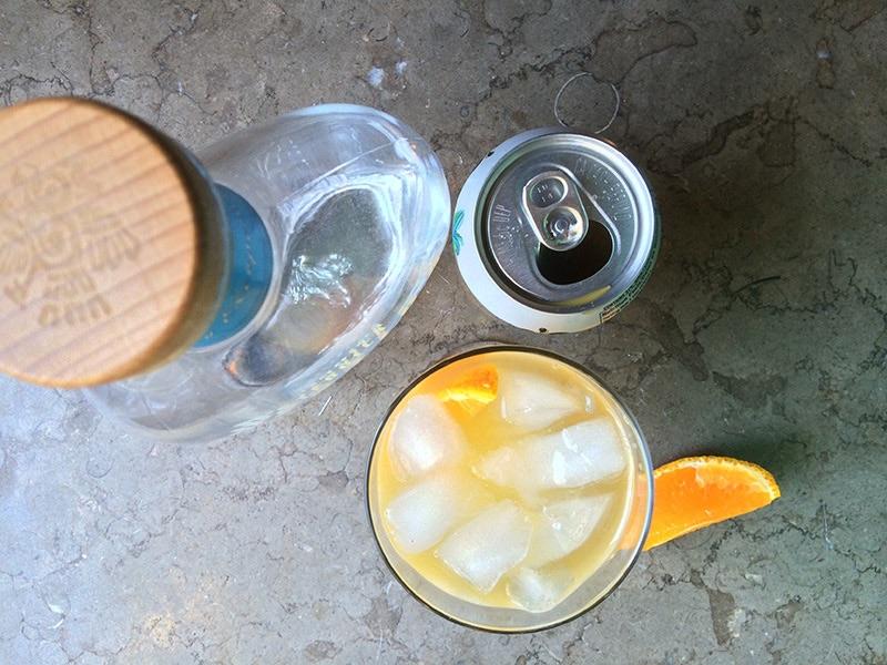 Passion Fruit & Orange Margarita