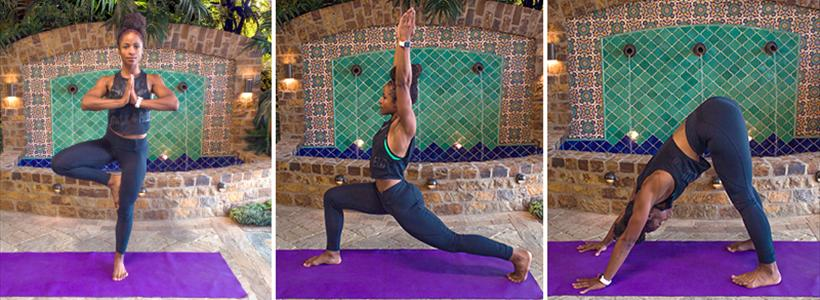 9 introductory yoga poses perfect for the backyard
