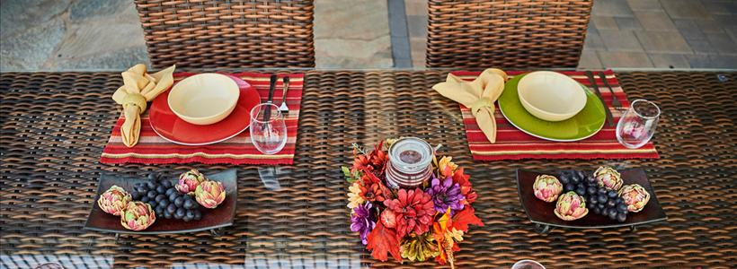 3 ways to maximize your outdoor living space for Thanksgiving