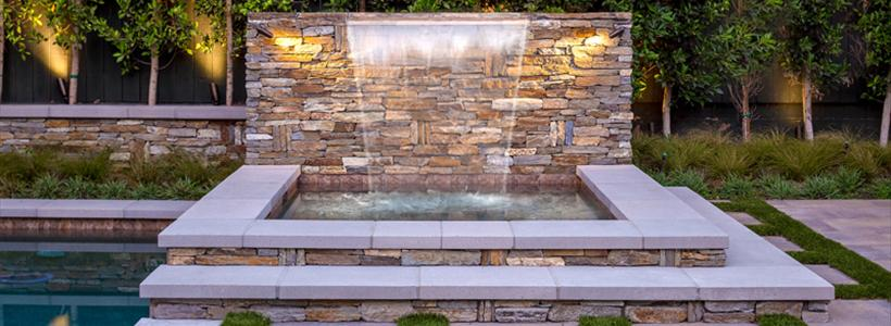 Creating mood and ambiance with fire and water features