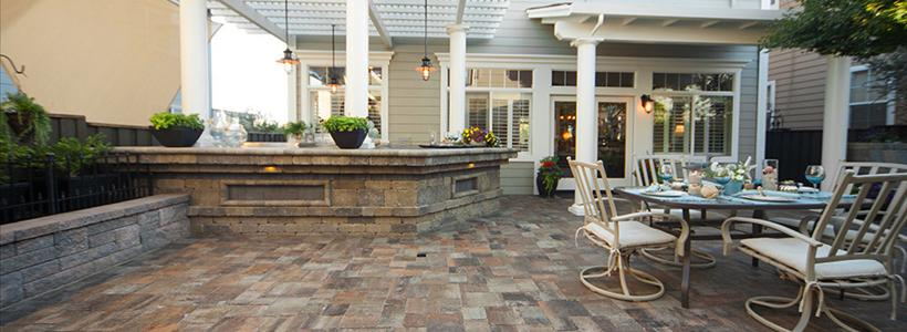 Design Your Outdoor Living Space  for Winter  | System Pavers
