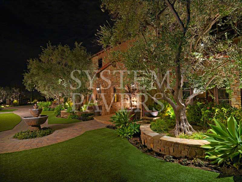 outdoor lighting low voltage led patio deck landscape lighting