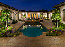 Pool Deck Lighting Design