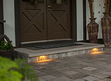 Front Door Step Lighting