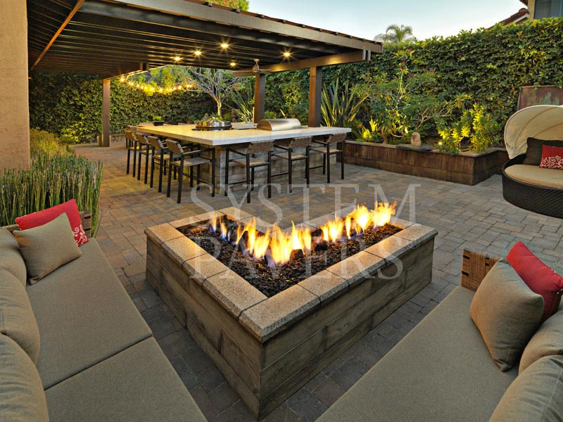 Outdoor Fire Pits Design Amp Installation Services System