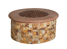 Natural Stone Fire Pit2