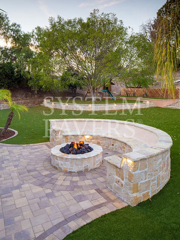 Outdoor Fire Pits: Design & Installation Services| System Pavers
