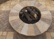 Outdoor Paver Firepit