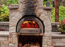 Wood-Burning Paving Stone Pizza Oven