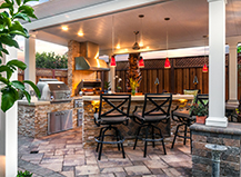 Freestanding Pergola With Outdoor Lighting