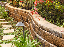 Walkways Retaining Wall