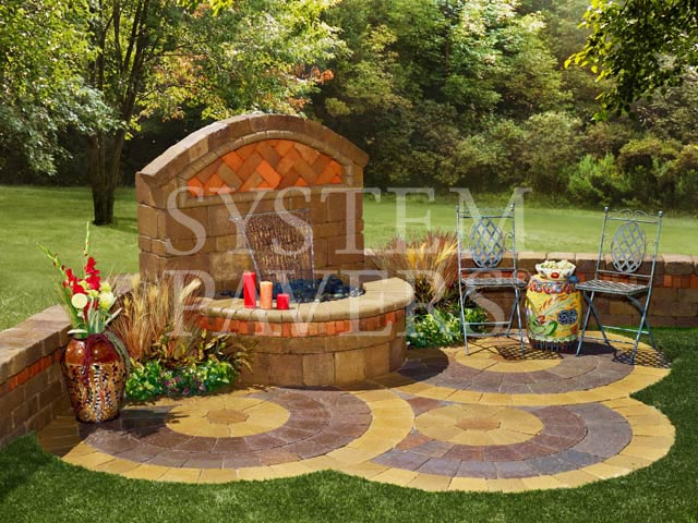 Wall Water Features Outdoor Backyard Garden Wall Water Features