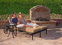 Paver Poolside Fountain Capri S Lifestyle