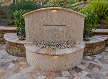 Capri Water Feature With Stones