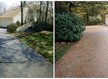 Before After Pavers Walkway Path