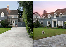 The Beauty Of Paver Stones Before And After