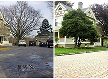 Before After Paver Stones Tonetti