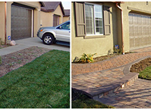 Difference Before After Pavers