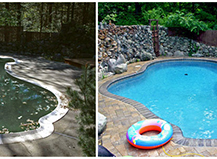 Pool Area Paver Stone Designs